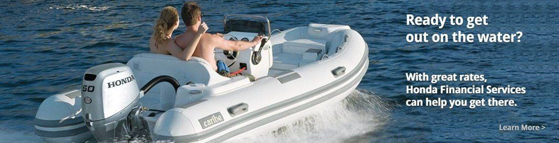 Honda Marine - 4.99% Financing on New Honda-Powered Boat / Motor Packages