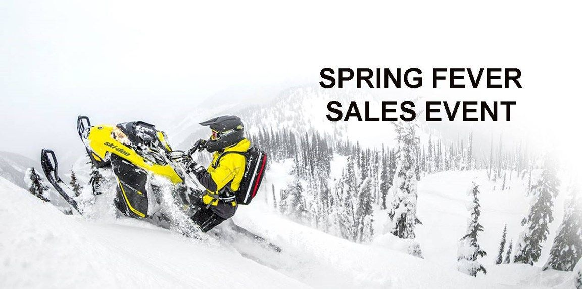 Ski-Doo Spring Fever Sales Event